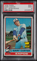 Baseball Cards:Singles (1970-Now), 1976 Topps Gary Carter (All-Star Rookie) #441 PSA Mint 9....