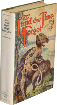 Edgar Rice Burroughs. The Land That Time Forgot. Chicago: A. C. McClurg & Co., 1924. First edit