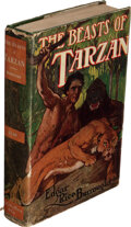 Books:Science Fiction & Fantasy, Edgar Rice Burroughs. The Beasts of Tarzan. Chicago: A. C. McClurg & Co., 1916. First edition....