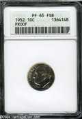 Proof Roosevelt Dimes: , 1952 PR 65 Full Bands PCGS. The current Coin Dealer ...