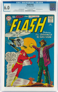 The Flash #118 (DC, 1961) CGC FN 6.0 Cream to off-white pages