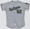 Baseball Collectibles:Uniforms, 2017 Pedro Báez Los Angeles Dodgers Game Worn Memorial Day Jersey. ...