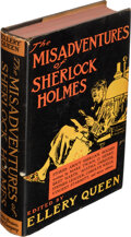 Books:Mystery & Detective Fiction, Ellery Queen. The Misadventures of Sherlock Holmes. Boston: Little, Brown and Company, 1944. First edition, one of...