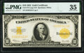 Large Size:Gold Certificates, Fr. 1173 $10 1922 Gold Certificate PMG Choice Very Fine 35...