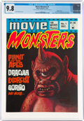 Magazines:Horror, Movie Monsters #1 Double Cover (Atlas-Seaboard, 1974) CGC NM/MT 9.8 White pages....