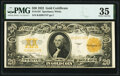 Large Size:Gold Certificates, Fr. 1187 $20 1922 Gold Certificate PMG Choice Very Fine 35...