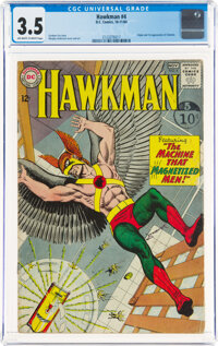 Hawkman #4 (DC, 1964) CGC VG- 3.5 Off-white to white pages