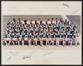 Football Collectibles:Others, 1976 College Football All-Stars Multi-Signed Photograph....