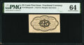 Fractional Currency:First Issue, Fr. 1282SP 25¢ First Issue PMG Choice Uncirculated 64.. ...