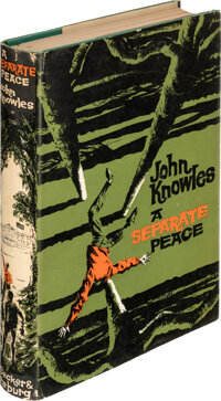 John Knowles. A Separate Peace. London: Secker & Warburg; 1959. First edition