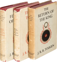 J. R. R. Tolkien. The Lord of the Rings, including: The Fellowship of the Ring.</