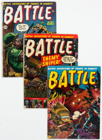 Battle Group of 13 (Marvel, 1952-59) Condition: Average GD-.... (Total: 13 Comic Books)
