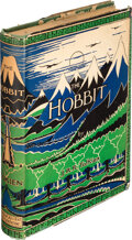 Books:Science Fiction & Fantasy, J. R. R. Tolkien. The Hobbit or There and Back Again. London: George Allen & Unwin Ltd., [1937]. First edition w...