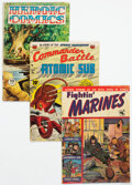 Golden Age (1938-1955):War, Golden-Bronze Age War-Related Comics Group of 30 (Various Publishers, 1944-74) Condition: Average VG-.... (Total: 30 Comic Books)