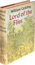 Books:Literature 1900-up, William Golding. Lord of the Flies. London: Faber and Faber, [1954]. First edition, in a first state dust jacket....