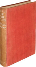 Books:Literature 1900-up, William Golding. Lord of the Flies. London: Faber and Faber, [1954]. First edition....