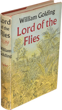 William Golding. Lord of the Flies. London: Faber and Faber, [1954]. First edition, second impr