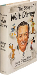 Books:Biography & Memoir, Diane Disney Miller and Pete Martin. The Story of Walt Disney. New York: Henry Holt and Company, [1957]. First editi...