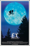 """Movie Posters:Science Fiction, E.T. The Extra-Terrestrial (Universal, 1982). Rolled, Very Fine+. One Sheet (26.75"""" X 40.5"""") Bicycle Style. Science Fiction...."""