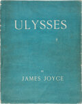 Books:Literature 1900-up, James Joyce. Ulysses. First edition, limited to 1,000 copies, of which this is number 868, one of the 750 copies pri...