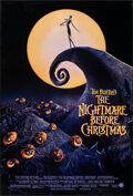 """Movie Posters:Animation, The Nightmare Before Christmas (Touchstone, 1993). Rolled, Very Fine-. One Sheet (27"""" X 40"""") DS. Animation.. ..."""