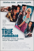 """Movie Posters:Crime, True Romance (Warner Bros., 1993). Rolled, Very Fine+. One Sheet (27"""" X 40"""") DS. Crime.. ..."""