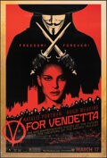 """Movie Posters:Action, V for Vendetta (Warner Bros., 2005). Rolled, Fine/Very Fine. One Sheets (3) (27"""" X 40"""") SS & DS, Advance, 3 Styles. Action.... (Total: 3 Items)"""