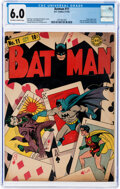 Golden Age (1938-1955):Superhero, Batman #11 (DC, 1942) CGC FN 6.0 Off-white to white pages....