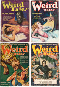 Pulps:Horror, Weird Tales Group of 13 (Popular Fiction, 1934-53) Condition: Average GD/VG.... (Total: 13 Items)