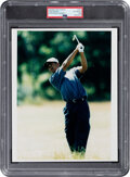 Golf Collectibles:Miscellaneous, 1996 Tiger Woods British Open Original Photograph, PSA/DNA Type 1....