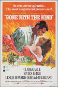 "Movie Posters:Academy Award Winners, Gone with the Wind (MGM, R-1974). Folded, Very Fine. One Sheet (27"" X 41"") Howard Terpning Artwork. Academy Award Winners.. ..."