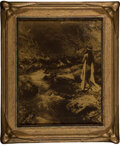 Photographs, Edward Sheriff Curtis (American, 1868-1952). Maid of Dreams, 1909. Orotone. 9-1/8 x 7-1/8 inches (23.2 x 18.1 cm). Signe...