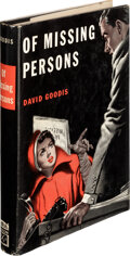 Books:Mystery & Detective Fiction, David Goodis. Of Missing Persons. New York: William Morrow & Co., 1950. First edition....