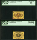 Fractional Currency:First Issue, Fr. 1231SP 5¢ Face First Issue PCGS Very Choice New 64;