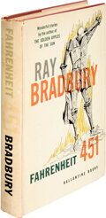 Books:Science Fiction & Fantasy, Ray Bradbury. Fahrenheit 451. New York: Ballantine Books, Inc., [1953]. First edition. Signed by the author on t...