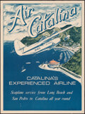 """Movie Posters:Miscellaneous, Air Catalina (1973). Rolled, Very Fine-. Travel Poster (18"""" X 24"""") Gary Miltimore Artwork. Miscellaneous.. ..."""