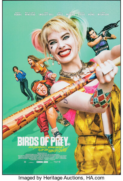 Birds Of Prey And The Fantabulous Emancipation Of One Harley Quinn Lot 52057 Heritage Auctions