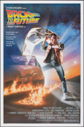 "Movie Posters:Science Fiction, Back to the Future (Universal, 1985). Rolled, Very Fine+. One Sheet (27"" X 41"") SS, Drew Struzan Artwork. Science Fiction.. ..."