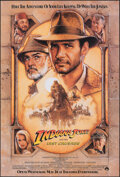 "Movie Posters:Action, Indiana Jones and the Last Crusade (Paramount, 1989). Rolled, Very Fine/Near Mint. One Sheet (27"" X 40"") SS Advance, Drew St..."