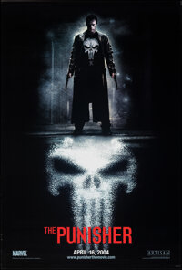 "The Punisher (Lions Gate, 2004). Rolled, Very Fine+. One Sheet (26.75"" X 39.75"") DS Advance. Action"
