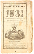 Books:Reference, The American Comic Almanack (Charles Ellms, 1831)....