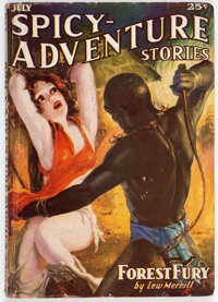 Spicy Adventure Stories - July 1936 (Culture) Condition: FN
