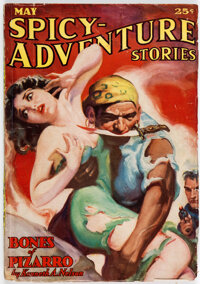 Spicy Adventure Stories - May 1936 (Culture) Condition: FN