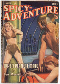 Pulps:Science Fiction, Spicy Adventure Stories - September 1941 (Culture) Condition: FN....