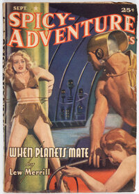 Spicy Adventure Stories - September 1941 (Culture) Condition: FN/VF