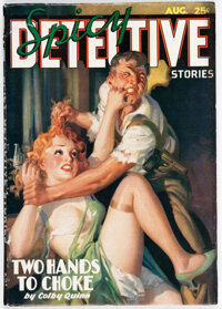 Spicy Detective Stories - August 1936 (Culture) Condition: FN/VF