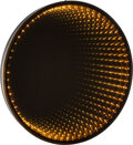 Lighting, American School (20th Century). Infinity Mirror, circa 1970. Metal, glass. 39-1/2 x 39-1/2 x 3-1/4 inches (100.3 x 100.3...