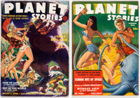 Planet Stories - Summer 1942 (Fiction House) Condition: FN/VF