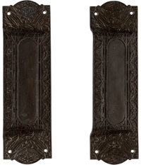 Louis H. Sullivan (American, 1856-1924) Two Door Pulls from the Buffalo Guaranty Building, circa 1896