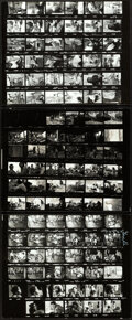 """Movie Posters:Horror, The Texas Chainsaw Massacre (Bryanston, 1974). Very Fine+. Photo Contact Sheets (3) (8"""" X 10"""").. ..."""